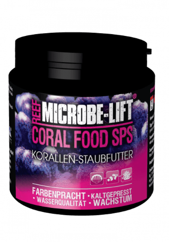Microbe Lift CORAL FOOD SPS Korallen-Staubfutter 90 g
