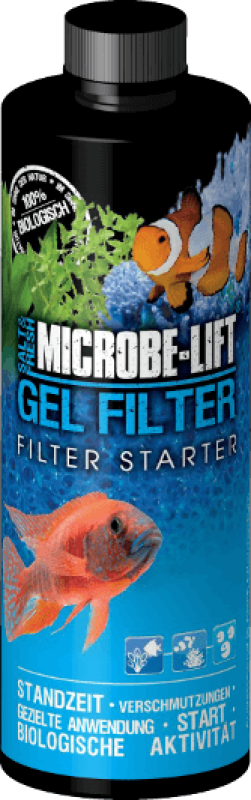 Microbe Lift GEL FILTER Filterstarter
