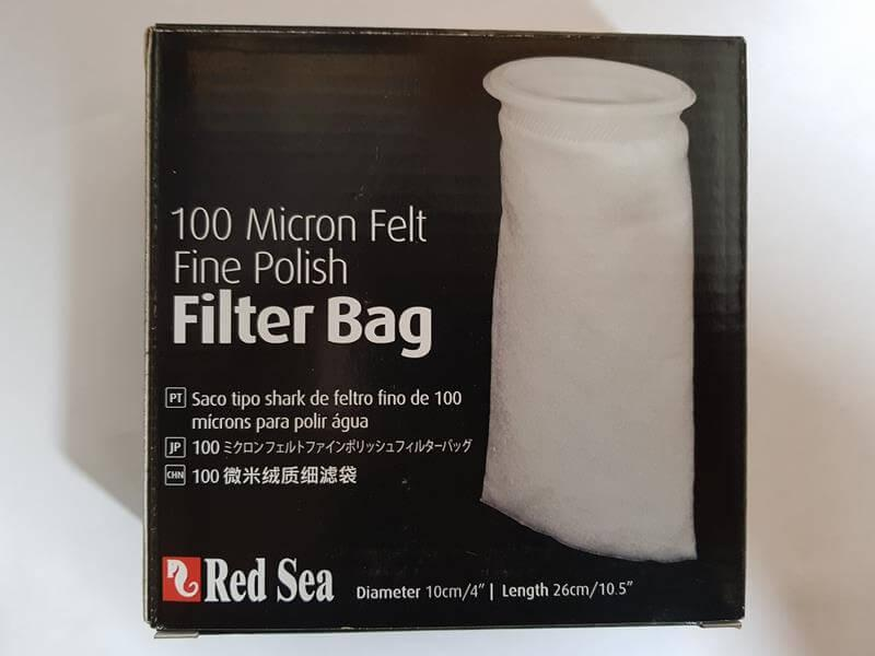 Red Sea Filterbeutel fein – Vlies 100 micron