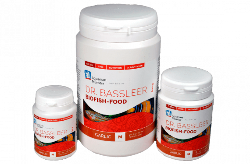 Dr. Bassleer Biofish Food garlic