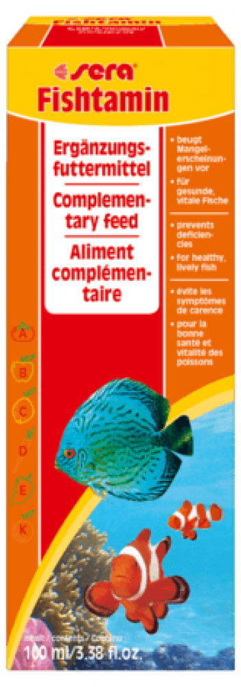 Sera Fishtamin Vitamine 100 ml